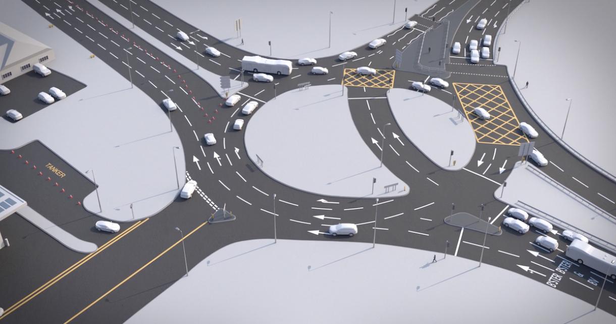 VEX-Driven Procedural Traffic System