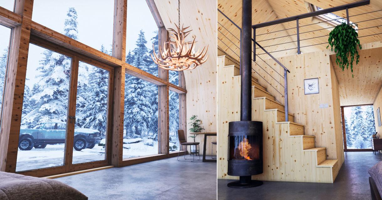 Winter Cabin: ArchViz in UE4