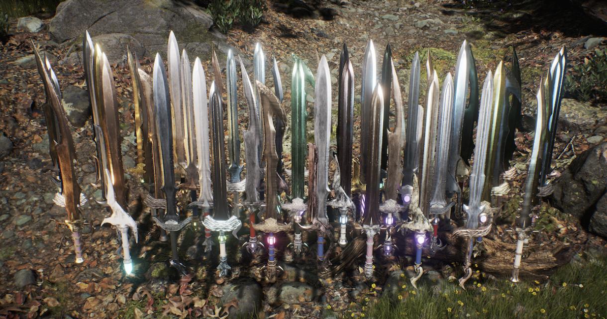 Over 9000 Swords for UE4