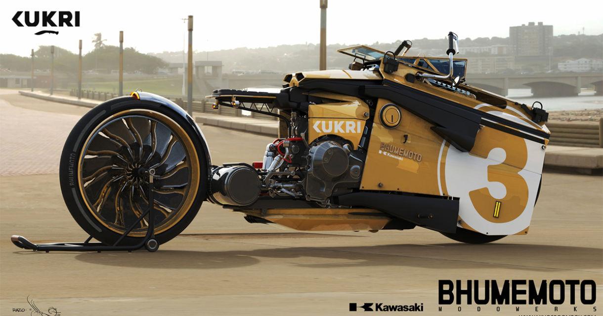 Bhumemoto: Designing Vehicles in 3D