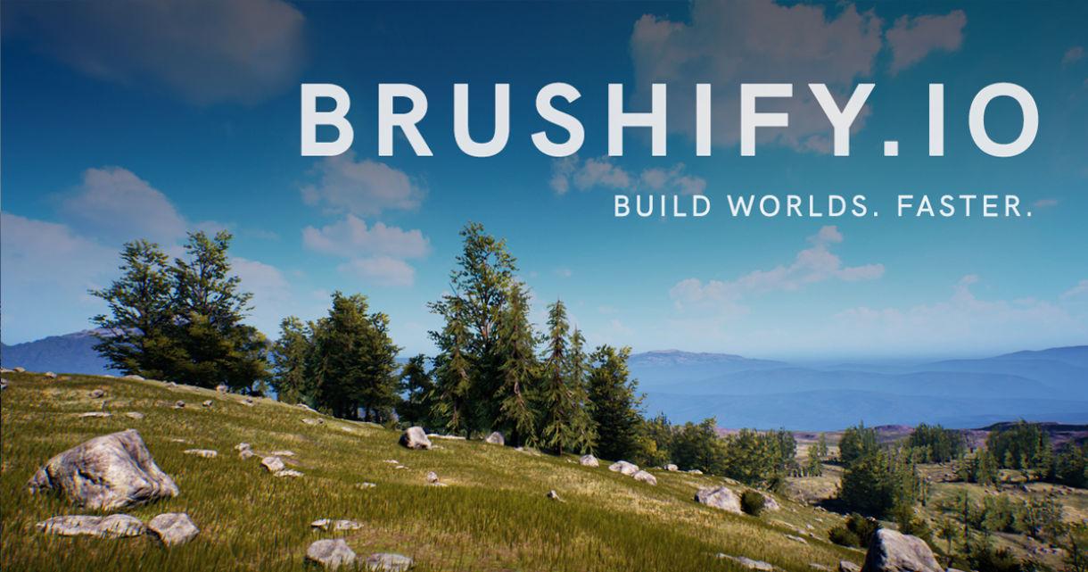 Upgrading Landscapes with Brushify