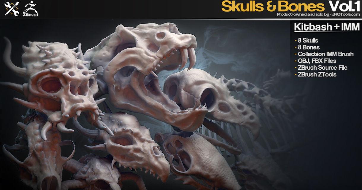 Kitbash + IMM: Skulls & Bones
