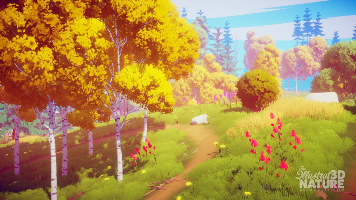 Stylized Nature: Vegetation, Animation, Shaders