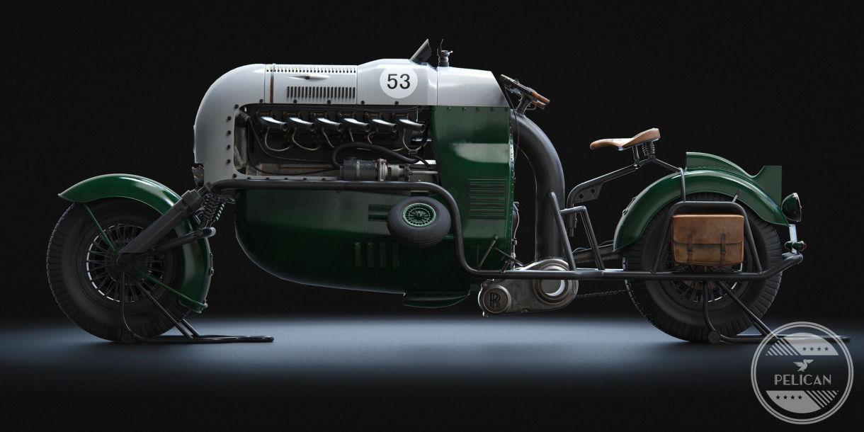 Rolls-Royce Pelican: Designing Vehicles