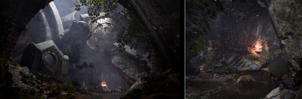 Forsaken: Composition, Atmosphere, Lighting in UE4