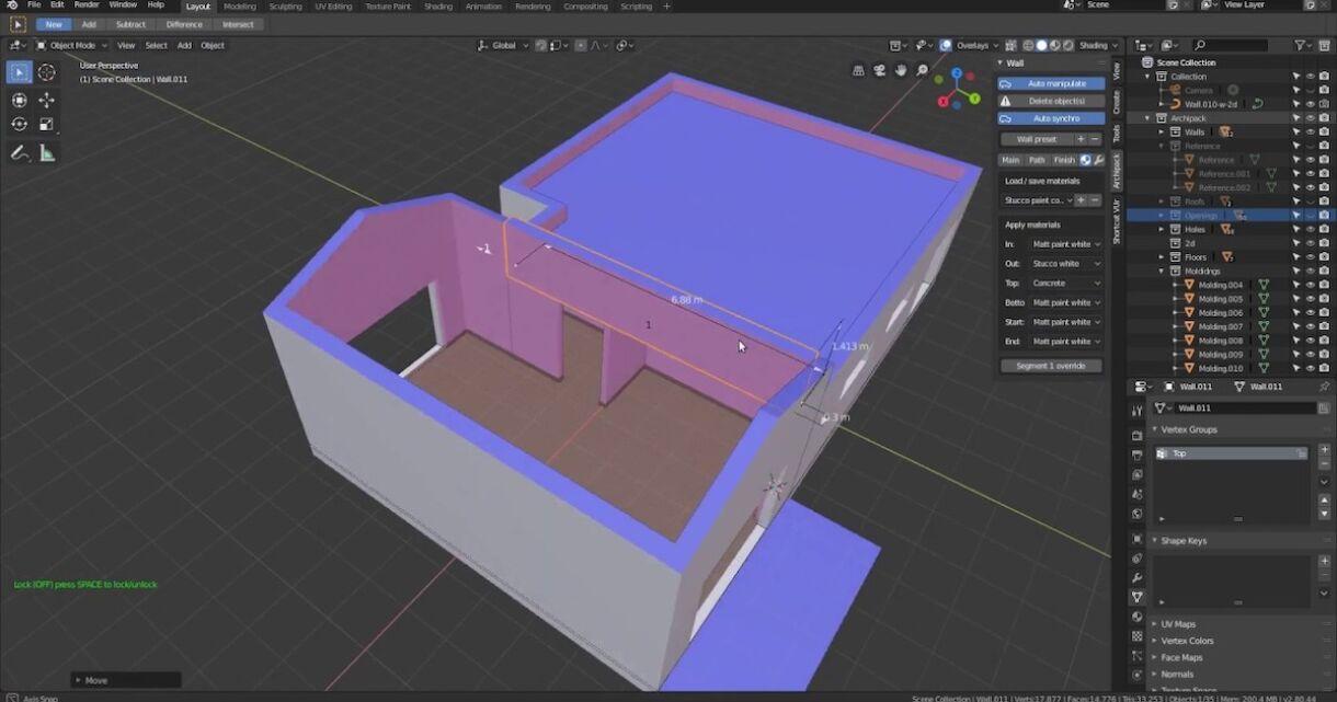 ArchiPak 2.0 for Blender 2.8