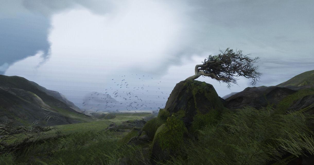 Ambient VFX in UE4: Wind Effect
