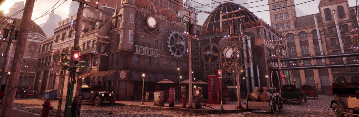 Level Design: Steampunk Environment Production
