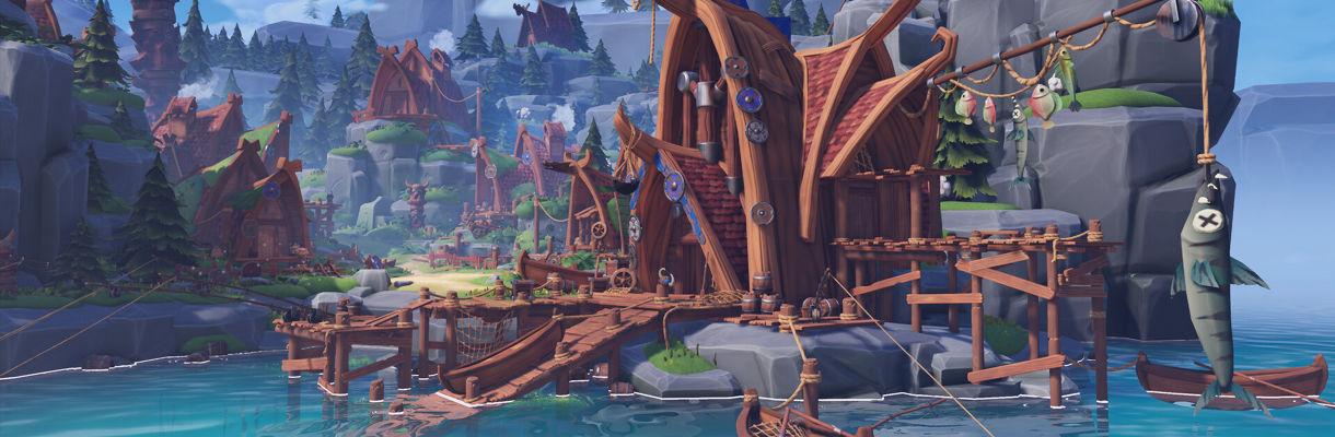 Stylized Viking Village: Water, Materials, Lighting