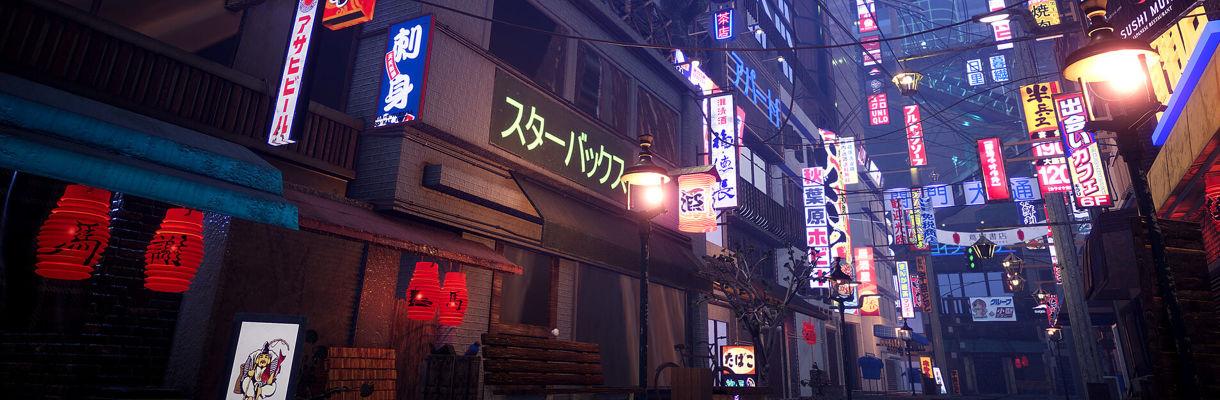 Tokyo Night Scene in Unity: Tips and Tricks