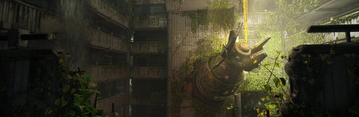 Concrete Evergreen: Making a Modular Scene Less Repetitive