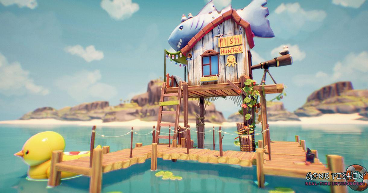 Creating a Cartoonish Seaside Scene in UE4