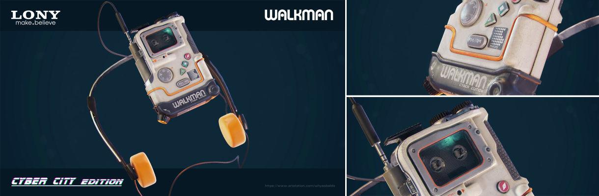 LONY Walkman: Prop Production in Detail