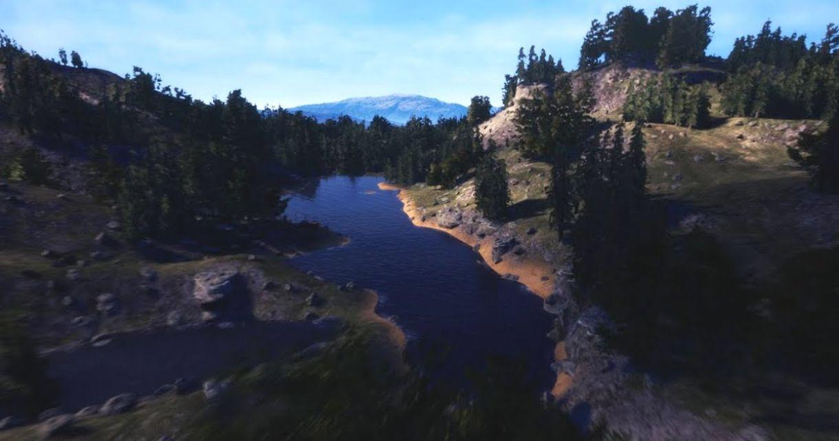 Brushify: Creating a Lake Terrain in UE4