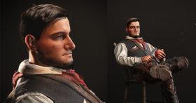Western Self-Portrait: 3D Character Breakdown