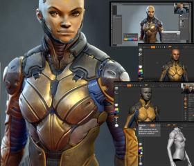 3D Character Design Class - Sci-Fi